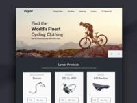 Ecommerce Website Landing Page