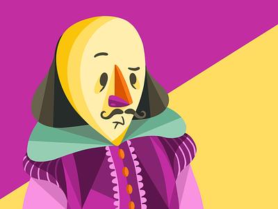 Shakespeare shakespeare character design procreate illustration