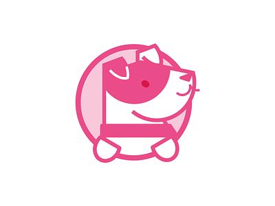 Good boy dog vector illustration icon