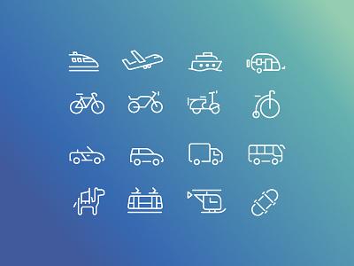 Free Icons Transports transports ui icons