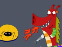 Halloween Mashup Dragon