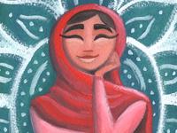 Malala Original Painting