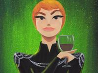 Cersei Lannister / Game of Thrones / Original Painting