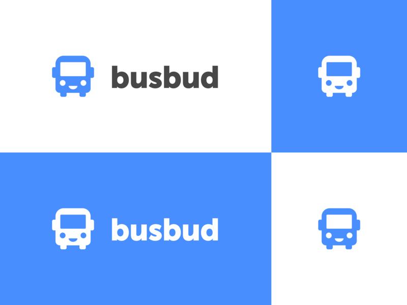 Busbud Rebrand logo mark identity logo busbud bus branding brand