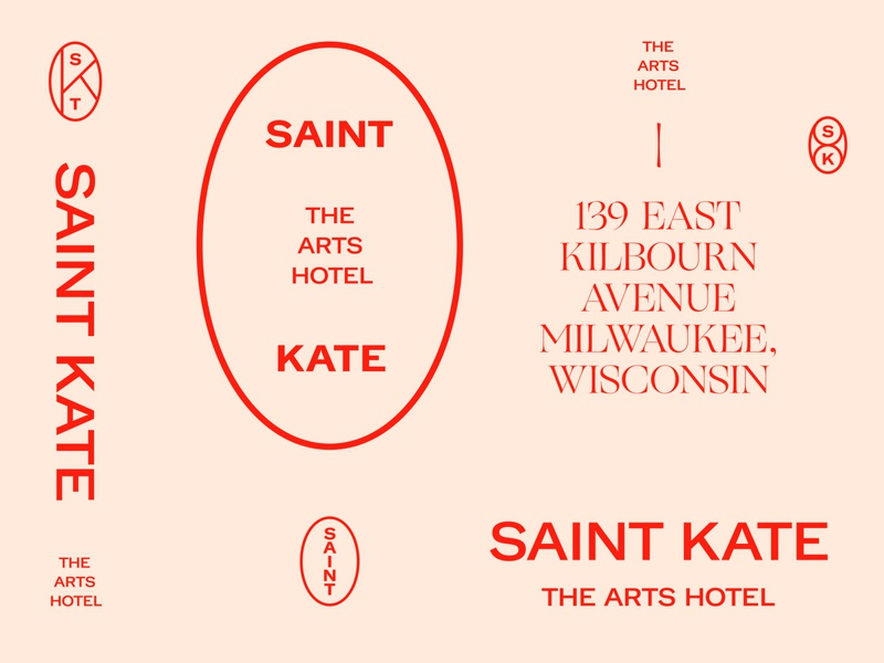 Saint Kate — Brand Marks System