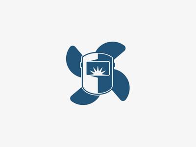 Welding & Prop Repair Logo