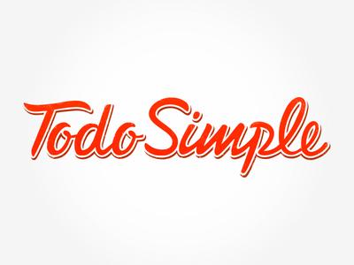 Todo Simple or Easy Way