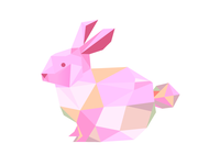 Faceted Bunny