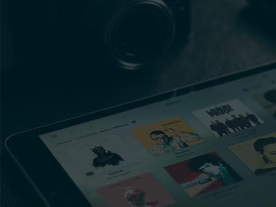 Meridian Sooloos prototype exploration ipad sooloos meridian ios app music
