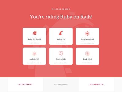 WIP Rails Default Page default page open source ruby on rails rails ruby