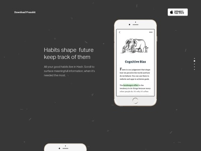 Source Shots — 2/100 Hash Feature source shots sketchapp sketch app landing page feature freebie free download confetti iphone coming soon
