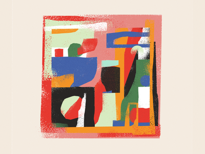 Scraps design graphic texture illustration