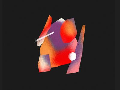 Stone graphic texture design illustration