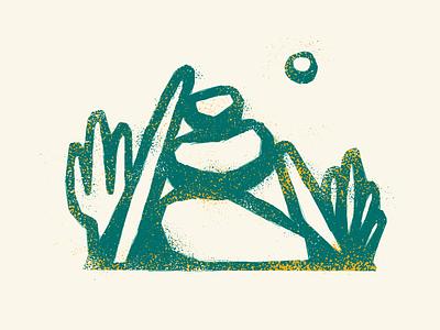Desert desert graphic texture design illustration
