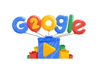 Google Doodle 20th Anniversary