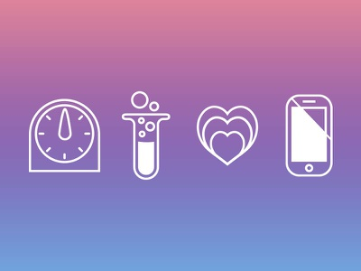 Webapp Icons icons stroke white line-art