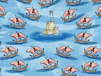Internet Barbarians Illustration