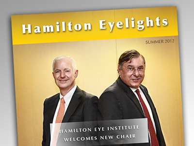 Newsletter Cover newsletter magazine cover layout print design yellow brown suits photo retouching photo enhancing high contrast portrait