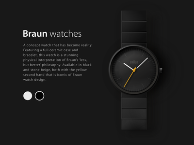 Braun watches braun watches