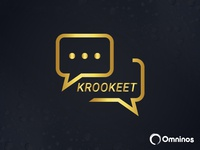 Krookeet Chat App Logo Design