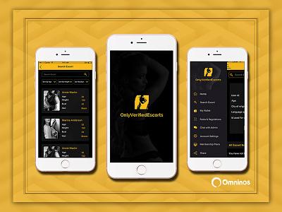 Escort App yellow black shades best escort service escorst app cheap prices