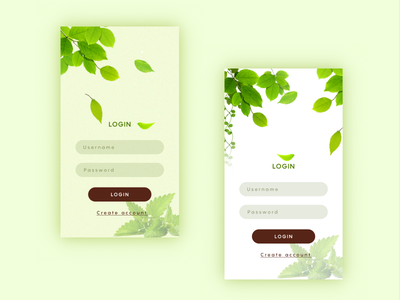 login  green ux in ui login material layout guidelines google flat design android