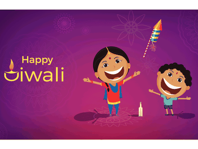 Diwali illustration viewpoint traditional style colors lights poster india illustration diwali contrast