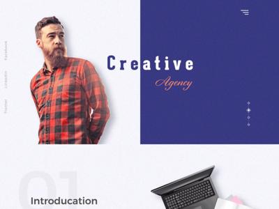 Creative agency site