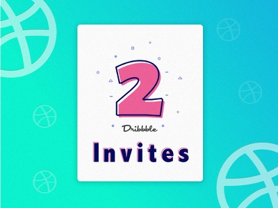 Invite Shot ui recent all gradient illustrations card invites two dribbble