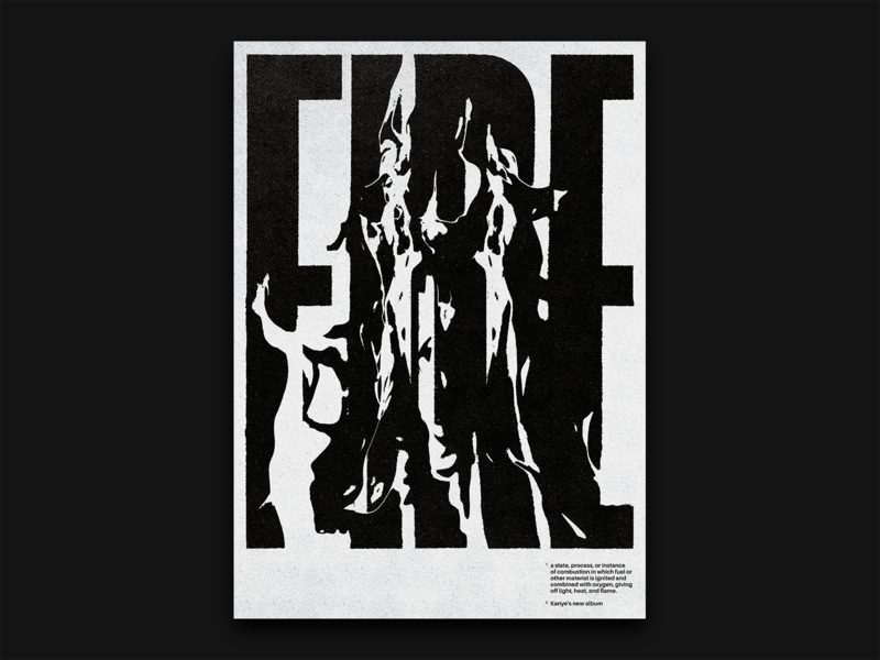 Fire Typographic Poster poster print design print visual communication visual typographic typographic illustration illustration poster artwork poster a day poster art poster design fire type typedesign type poster typography design typographic logo typographic poster typography