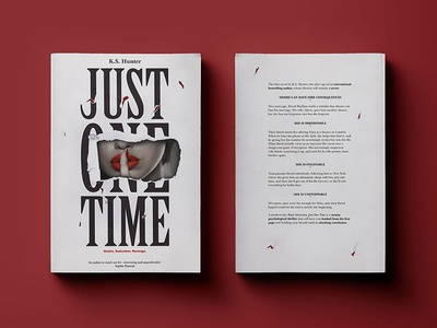 Just One Time cover type print monogram logo layout illustration icon gradient editorial digital design typography