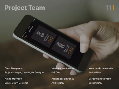 Shifte App | Project Team
