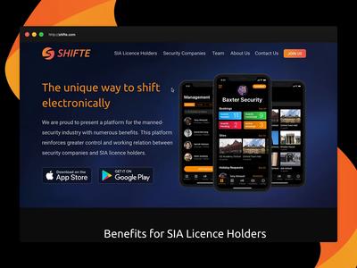 Shifte Promo Website