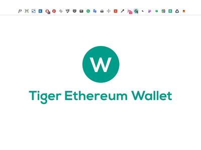 Tiger Ethereum Wallet | Chrome Extension