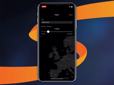 Shifte App | Map Radius