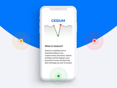Cesium – Onboarding