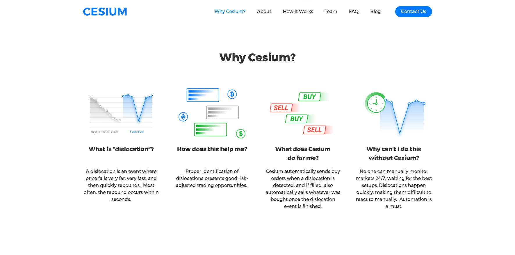 Why cesium