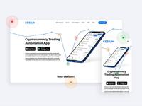 Cesium – Promo Website