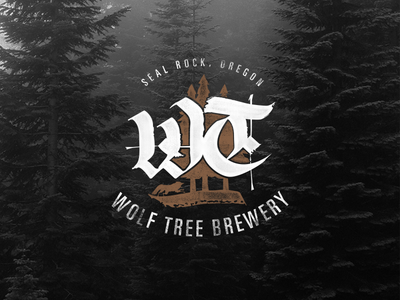 Wolf Tree Brewery logo
