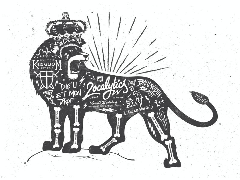 United Kingdom Roar crown hipster hand lettering lettering hydro74 grunge localytics uk united kingdom lion
