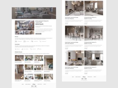 Rent a House Website