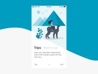 Travel App Onboarding