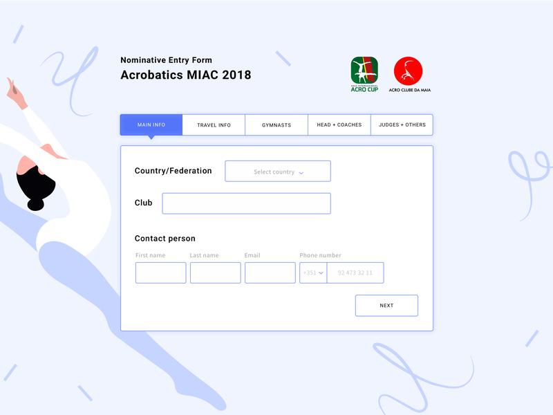 Acrobativ MIC 2018 ux app ui web development design form acro