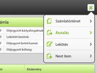 Bank iPad application