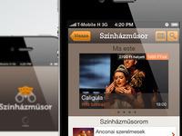 Theatre app