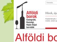Alfoldi wine