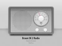 Braun Design Receiver SK2