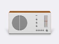 BRAUN RT20 Tube radio