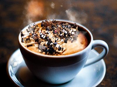 Enjoy a delicious music cup