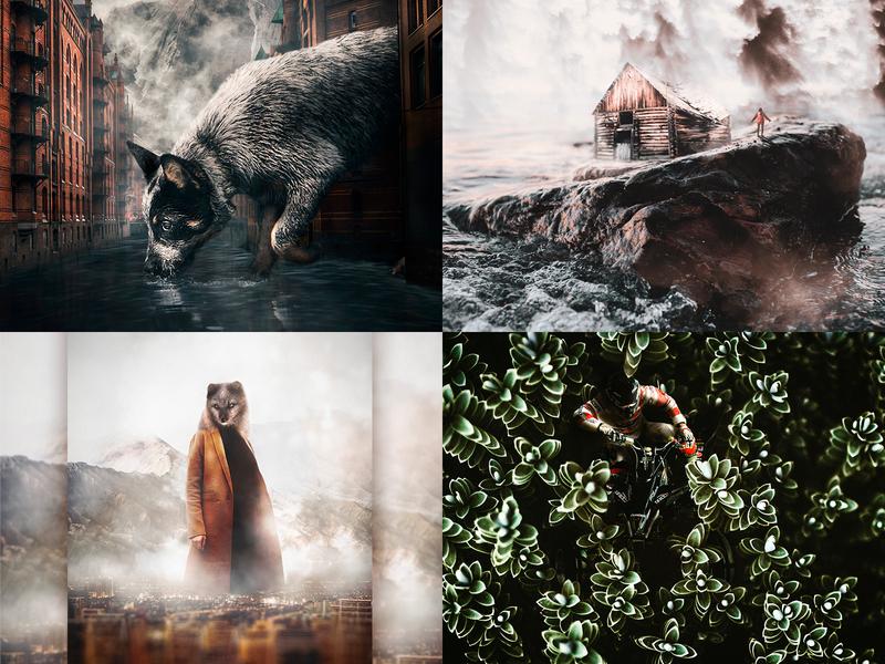 My top4Shots 2018 surreal-art design digital-art photocomposition adobe photoshop visual arts graphic design surreal art photoshop digital art photomanipulation